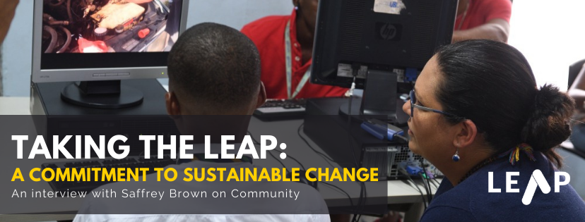 Taking the LEAP: A Commitment to Sustainable Change